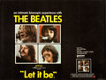 "Movie Posters:Rock and Roll, Let It Be (United Artists, 1970). British Quad (30"" X 40"").. ..."