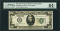 Fr. 2050-K $20 1928 Federal Reserve Note. PMG Choice Uncirculated 64 EPQ