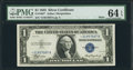 Small Size:Silver Certificates, Fr. 1607* $1 1935 Mule Silver Certificate. PMG Choice Uncirculated 64 EPQ.. ...