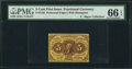Fractional Currency:First Issue, Fr. 1228 5¢ First Issue PMG Gem Uncirculated 66 EPQ.. ...