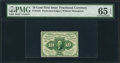 Fractional Currency:First Issue, Fr. 1241 10¢ First Issue PMG Gem Uncirculated 65 EPQ.. ...