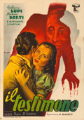 "Movie Posters:Foreign, The Testimony (CEIAD, 1946). Italian Foglio (27.5"" X 39.5""). Foreign.. ..."