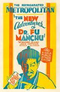 """Movie Posters:Mystery, The Return of Dr. Fu Manchu (Paramount, 1930). Locally Produced OneSheet (29.5"""" X 45"""").. ..."""