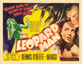 "Movie Posters:Horror, The Leopard Man (RKO, 1943). Half Sheet (22"" X 28"") Style A.. ..."