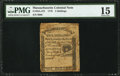 Colonial Notes:Massachusetts, Massachusetts 1779 5s PMG Choice Fine 15.. ...