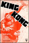 """Movie Posters:Horror, King Kong (RKO, R-1938). Uncut Pressbook (12 Pages, 12"""" X 18"""").. ..."""