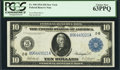 Large Size:Federal Reserve Notes, Fr. 910 $10 1914 Federal Reserve Note PCGS Choice New 63PPQ.. ...
