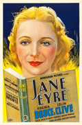 "Movie Posters:Romance, Jane Eyre (Monogram, 1934). One Sheet (27"" X 41"").. ..."