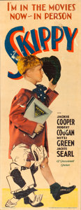 "Movie Posters:Comedy, Skippy (Paramount, 1931). Insert (14"" X 36"").. ..."
