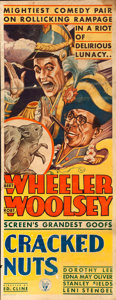 "Movie Posters:Comedy, Cracked Nuts (RKO, 1931). Insert (14"" X 36"").. ..."