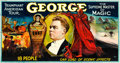 "Movie Posters, George --Triumphant American Tour (Otis Litho, Mid 1920s). 24 SheetMagic Poster (132"" X 161"").. ..."