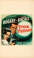 "Movie Posters:Film Noir, Dark Passage (Warner Brothers, 1947). Window Card (13"" X 22"").. ..."