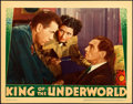 "Movie Posters:Crime, King of the Underworld (Warner Brothers, 1939). Linen Finish LobbyCard (11"" X 14"").. ..."