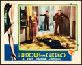 "Movie Posters:Crime, The Widow from Chicago (First National, 1930). Lobby Card (11"" X 14"").. ..."