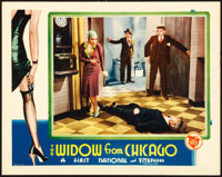 "The Widow from Chicago (First National, 1930). Lobby Card (11"" X 14"")"