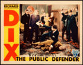 """Movie Posters:Mystery, The Public Defender (RKO, 1931). Lobby Card (11"""" X 14"""").. ..."""