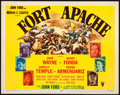 """Movie Posters:Western, Fort Apache (RKO, 1948). Title Lobby Card (11"""" X 14"""").. ..."""