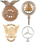 Movie/TV Memorabilia:Memorabilia, A Steve McQueen Owned Group of Automotive Ornaments....