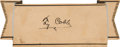Baseball Collectibles:Others, Circa 1940 Ty Cobb Signed Cut Signature, PSA/DNA Mint 9....