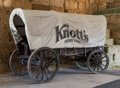 Memorabilia:Miscellaneous, Knott's Covered Wagon (c. 1900s)....