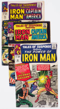 Golden Age (1938-1955):Science Fiction, Tales of Suspense Group of 14 (Marvel, 1964-68) Condition: AverageVG.... (Total: 14 Comic Books)