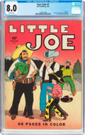 Golden Age (1938-1955):Humor, Four Color #1 Little Joe (Dell, 1942) CGC VF 8.0 Off-white pages....