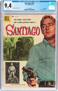 Silver Age (1956-1969):Western, Four Color #723 Santiago (Dell, 1956) CGC NM 9.4 White pages....