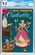 Golden Age (1938-1955):Cartoon Character, Four Color #786 Cinderella (Dell, 1957) CGC NM- 9.2 Off-white pages....