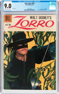 Silver Age (1956-1969):Adventure, Four Color #976 Zorro (Dell, 1959) CGC VF/NM 9.0 Off-white to white pages....