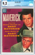 Silver Age (1956-1969):Western, Four Color #980 Maverick (Dell, 1959) CGC NM- 9.2 White pages....