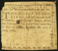 Colonial Notes:North Carolina, North Carolina July 14, 1760 5s Very Good-Fine.. ...