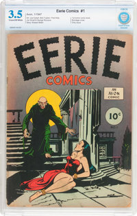 Eerie #1 (Avon, 1947) CBCS VG- 3.5 Cream to off-white pages