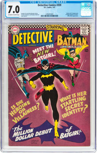 Detective Comics #359 (DC, 1967) CGC FN/VF 7.0 Off-white to white pages