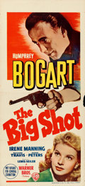 "Movie Posters:Crime, The Big Shot (Warner Brothers, 1942). Australian Daybill (13.75"" X30"").. ..."