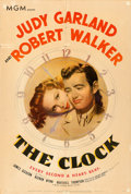 "Movie Posters:Romance, The Clock (MGM, 1945). One Sheet (27"" X 40"").. ..."