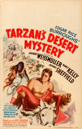 "Movie Posters:Adventure, Tarzan's Desert Mystery (RKO, 1943). Window Card (14"" X 22"").. ..."