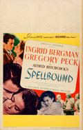 """Movie Posters:Hitchcock, Spellbound (United Artists, 1945). Window Card (14"""" X 22"""").. ..."""