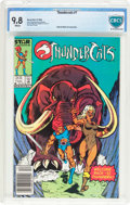 Modern Age (1980-Present):Science Fiction, Thundercats #7 (Marvel, 1986) CBCS NM/MT 9.8 White pages....