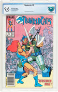 Modern Age (1980-Present):Science Fiction, Thundercats #12 (Marvel, 1987) CBCS NM/MT 9.8 White pages....