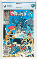 Modern Age (1980-Present):Science Fiction, Thundercats #17 (Marvel, 1987) CBCS NM/MT 9.8 White pages....