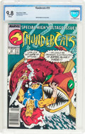 Modern Age (1980-Present):Science Fiction, Thundercats #23 (Marvel, 1988) CBCS NM/MT 9.8 White pages....