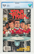 Modern Age (1980-Present):Science Fiction, Star Trek #1 (DC, 1984) CBCS NM/MT 9.8 White pages....