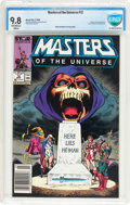 Modern Age (1980-Present):Science Fiction, Masters of the Universe #12 (Marvel, 1988) CBCS NM/MT 9.8 Off-whiteto white pages....