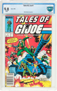 Tales of G. I. Joe #1 (Marvel, 1988) CBCS NM/MT 9.8 White pages