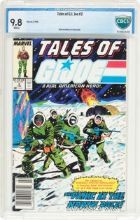 Tales of G. I. Joe #2 (Marvel, 1988) CBCS NM/MT 9.8 White pages