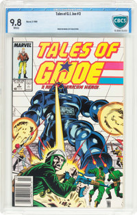 Tales of G. I. Joe #3 (Marvel, 1988) CBCS NM/MT 9.8 White pages