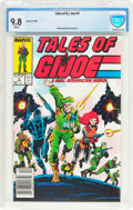 Modern Age (1980-Present):War, Tales of G. I. Joe #4 (Marvel, 1988) CBCS NM/MT 9.8 White pages....