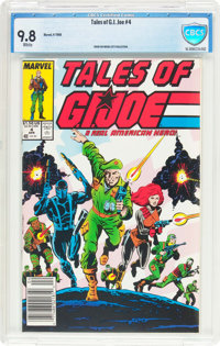 Tales of G. I. Joe #4 (Marvel, 1988) CBCS NM/MT 9.8 White pages