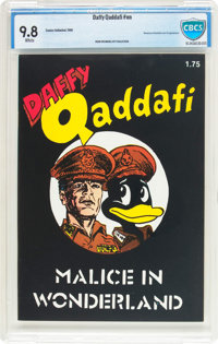 Daffy Qaddafi #nn (Comics Unlimited, 1986) CBCS NM/MT 9.8 White pages