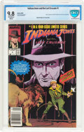 Modern Age (1980-Present):Miscellaneous, Indiana Jones and the Last Crusade #1 (Marvel, 1989) CBCS NM/MT 9.8 Off-white to white pages....